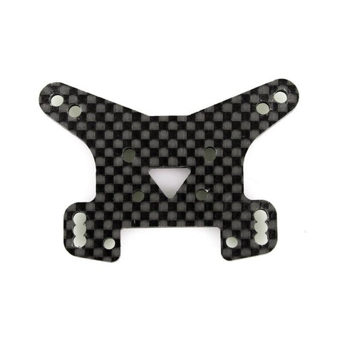 L6092 CARBON FIBER REAR SHOCK  TOWER 2.5mm, 100% carbon fiber<br><br><font size=2> (For EMB-WRC, EMB-1, EMB-SC, EMB-TG, EMB-MT)</font>