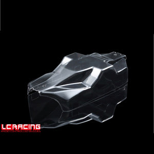 L6161 CHASSIS MUD COVER (PC) CLEAR<br><br><font size=2> (For EMB-SC, EMB-WRC)</font>