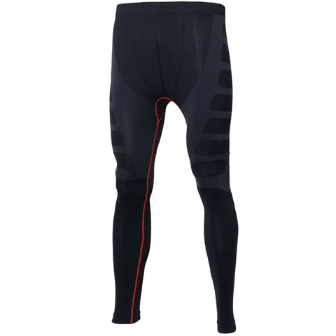 Men's Sports High Elastic and Quick-drying Tight Pants