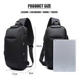 Waterproof Multi Functional Business Anti-theft Backpack With 3-Digit Lock