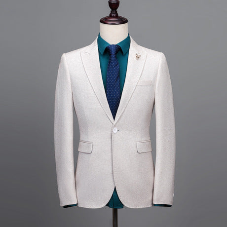Men's Suit Three-piece Suit