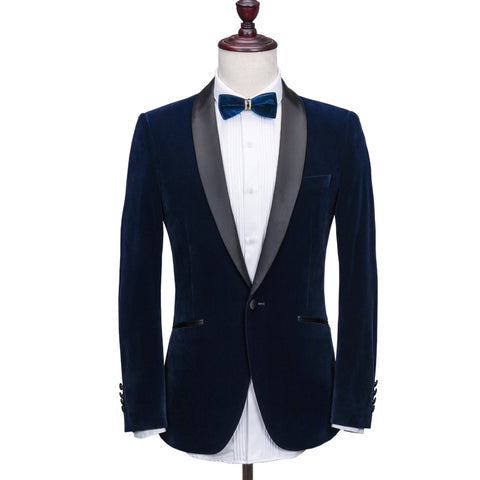 Men's Casual Dress Three-piece Suit