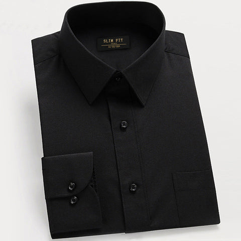 Long Sleeved Bottoming Shirt With Pocket for Men