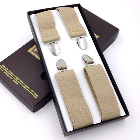 Adjustable Clip-on Elastic Suspender