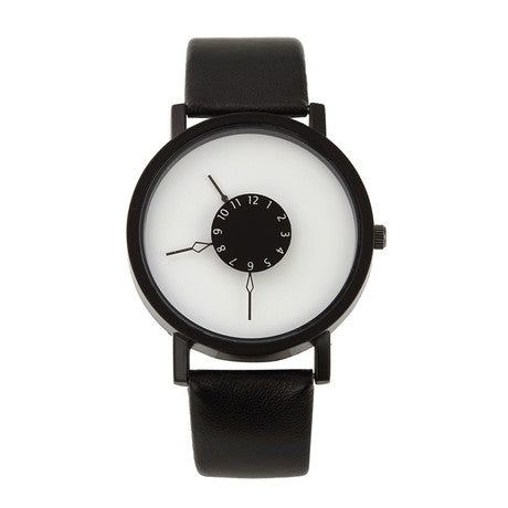 Men's Simple & Turntable Wrist Watch