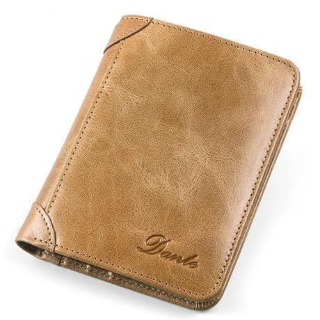 Men's Casual Vertical Multi-function Wallet