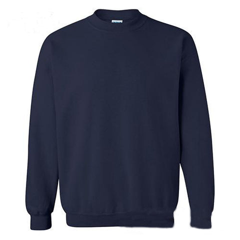 Round Neck Men's Sweater with Long Sleeve