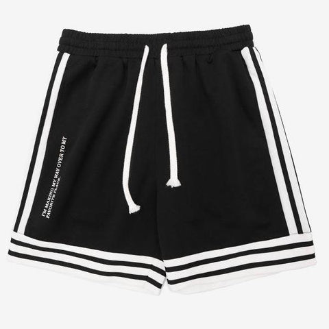 Men's Striped Casual Shorts