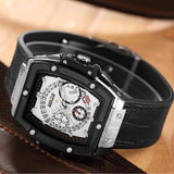 Men's Barrel Quartz Watch