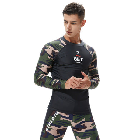 Men's Camouflage Quick-drying Swimwear