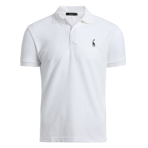 Men's Casual Short-sleeved Polo T-shirt