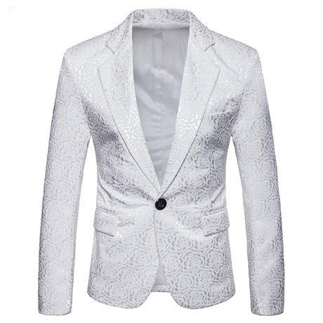 Men's Rose Flocking Suit