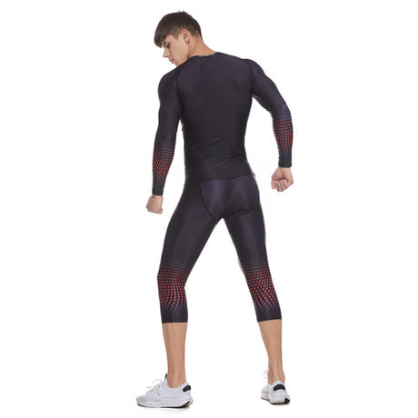 Men's Outdoor Sports Fitness Set