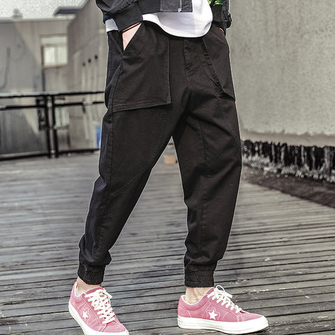 Men's Autumn Street Hiphop Harem Pants