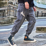 Men's Loose Thin Section Jeans