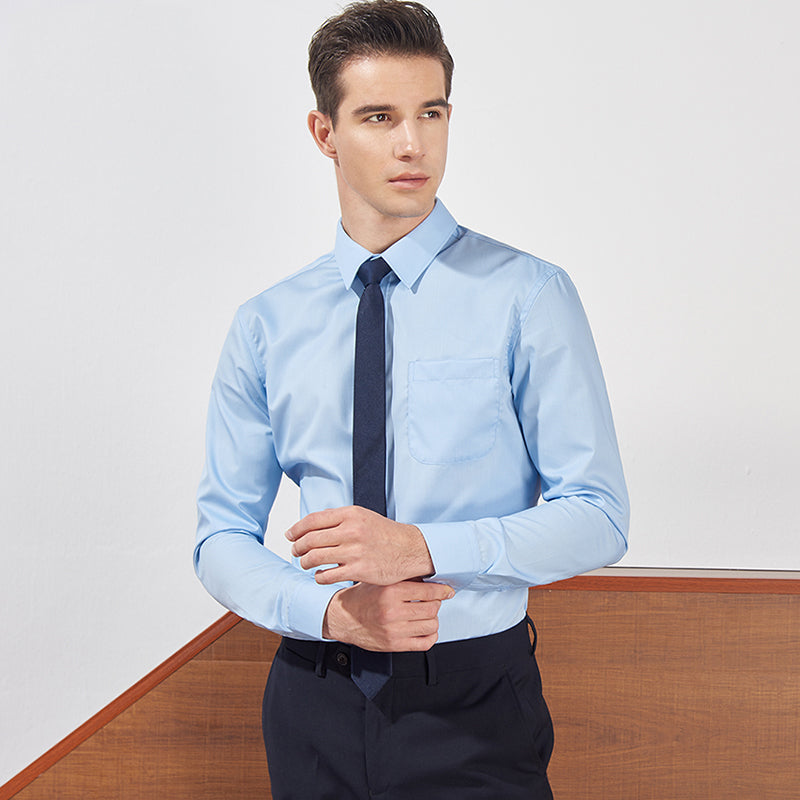 Men's Long Sleeve Slim Shirt
