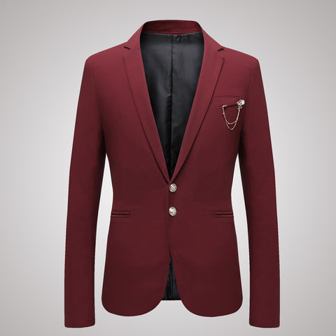 Men's Thin Casual Suit