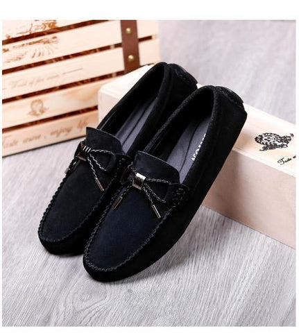 Men's Casual Leather Driving Shoes