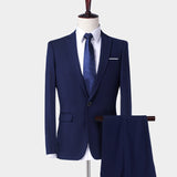 Men's Two-piece Wedding Suits