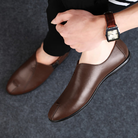 Men's Soft Bottom Leather Casual Shoes