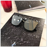 Men's Square Flat Sunglasses