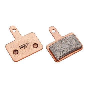 BBB DiscStop BBS-52S Sintered Metal Brake Pads for Shimano Deore mech. and Tektro
