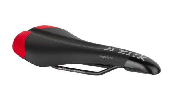 Fizik Monte S-Alloy Saddle Black Red Cordura