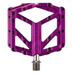 Supacaz Orbitron DH Flat Pedals - CNC Alloy Purple