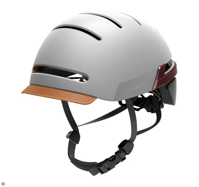 Livall BH51T Sandstone/grey helmet with lighting