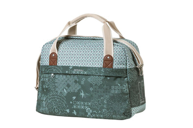 Basil Boheme carry all bag in the colour forrest green.