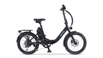 Bionic Nifty+ electric folding bike black