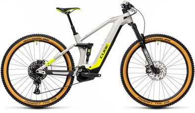 Cube Stereo Hybrid 140 HPC Race 625 2021 in Grey n yellow