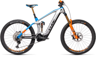Cube Stereo Hybrid 160 HPC Actionteam 625 27.5 Kiox Full Suspension E-MTB