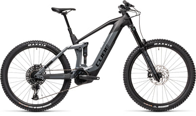 Cube Stereo Hybrid 160 HPC SL 625 in black/grey - Full suspension E-MTB