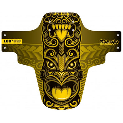 Dirtsurfer Tiki Mudguard yellow