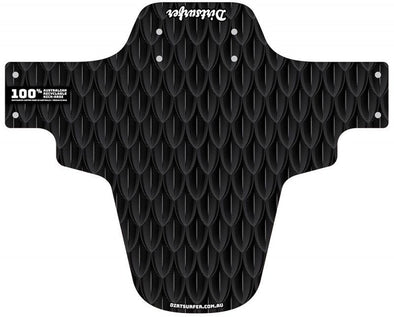 Dirtsurfer Black Scales mudguard