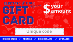 Electric Bike Rotorua Gift Card
