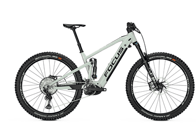 Focus Jam² 6.9 Nine Full Suspension E-MTB 2021 model in White