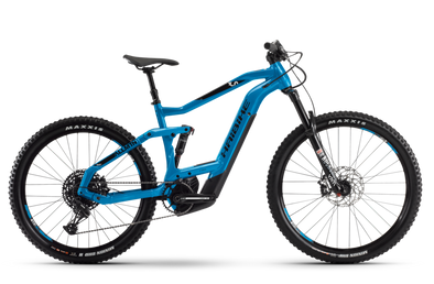 Haibike Allmtn 3.0 Xduro Blue full suspension E-Mountain Bike