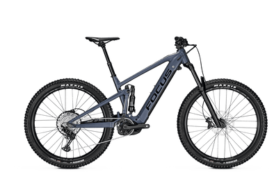 Focus Jam2 6.7 Plus E- Mountain bike with new Bosch motor in blue granite