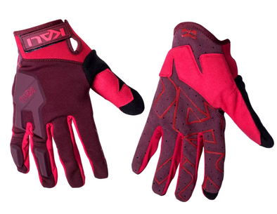 Kali Venture Bike Gloves in Red