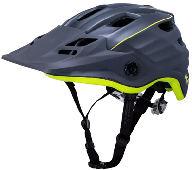 Kali Maya 2.0 enduro mountain bike helmet in yellow/black.