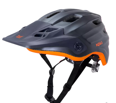 Kali Maya Bike helmet in black and orange
