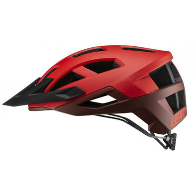 Leatt DBX 2.0 bike helmet in Ruby Red