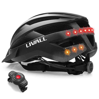 Livall Smart helmet with integrated lights