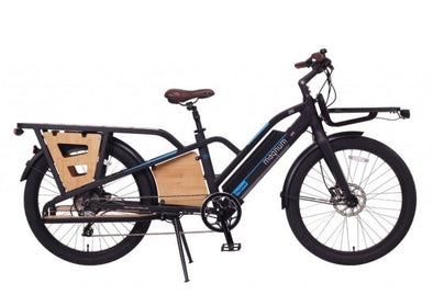 Magnum Payload Cargo Ebike in Black