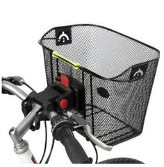 Ontrack Black Front mesh Basket with QR Mounting System