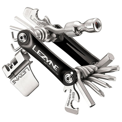 Lezyne rap 21 C02 multi tool in black