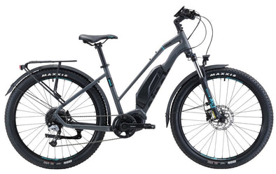 Sinch Jaunt 2 27.5'' Electric Cruiser bike in grey