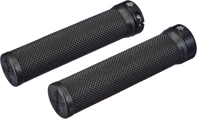 Supacaz Diamond Kush Grip Lock-on Grips - Black